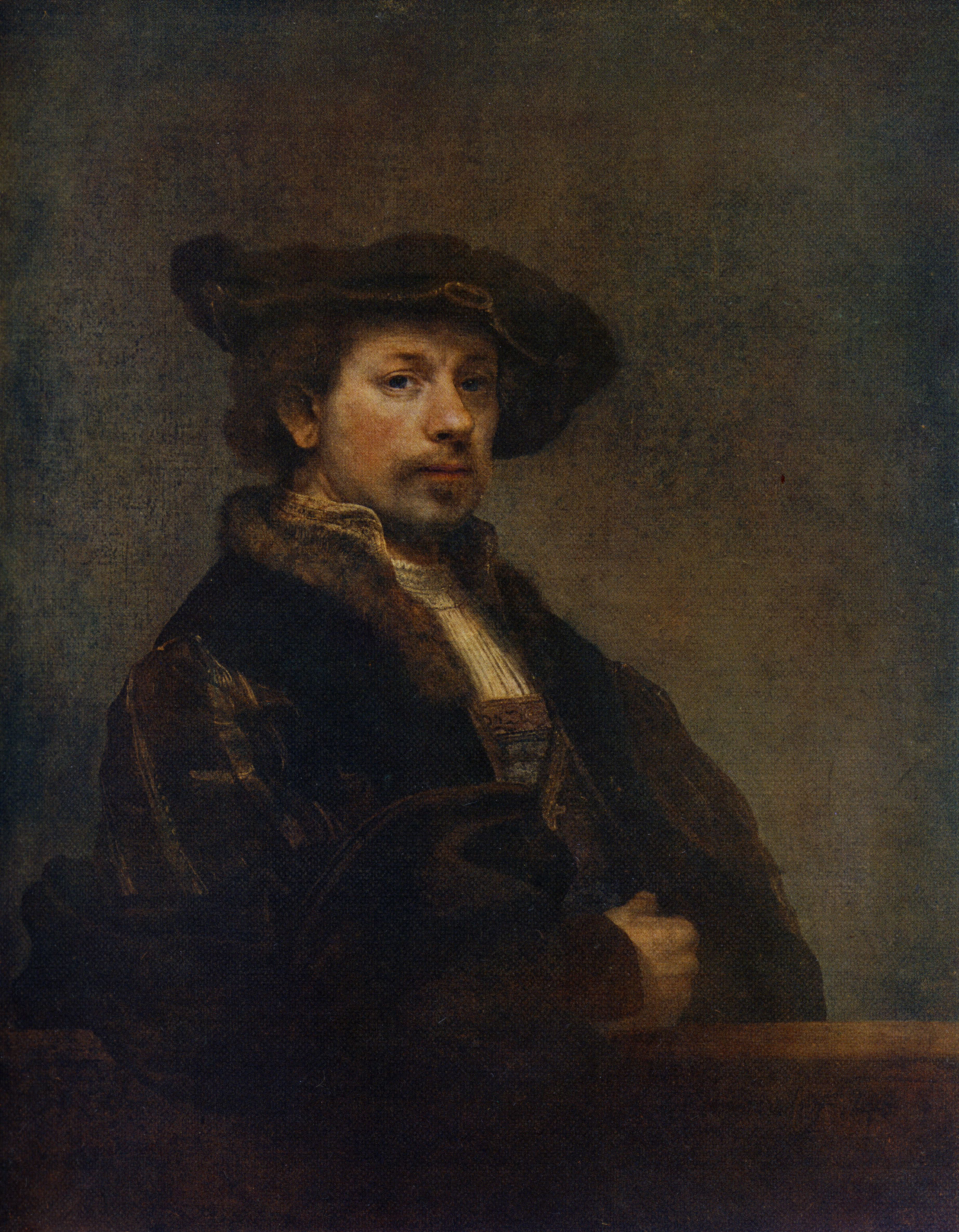 Rembrandt Self-Portrait at the Age of 34