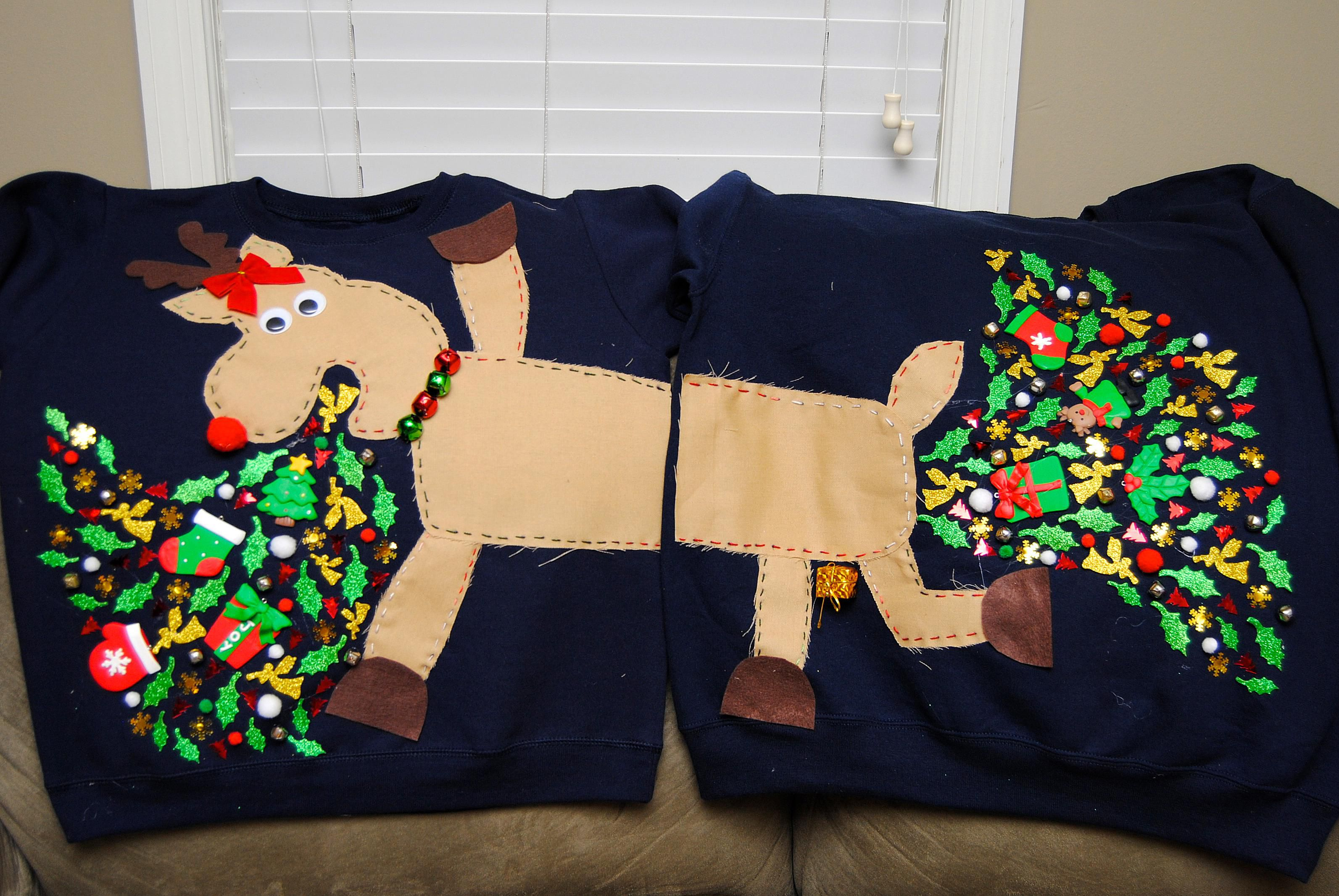20 of the funniest ugly christmas sweaters ever made - Unique Ugly Christmas Sweaters