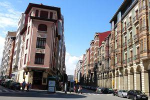 Streets of Gijón, Spain