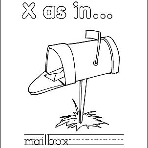 Letter X 9