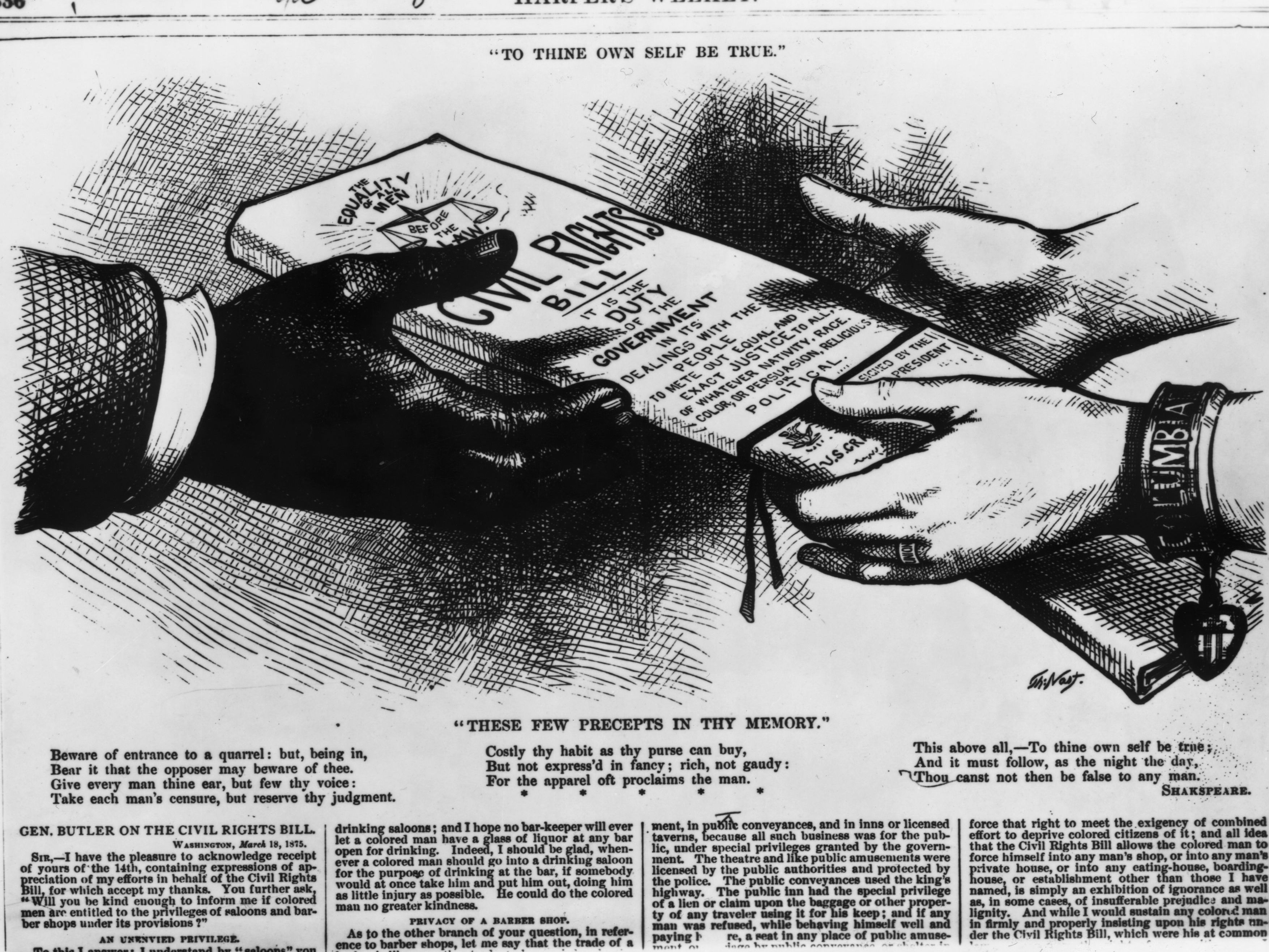 The Civil Rights Act Of 1866 History And Impact