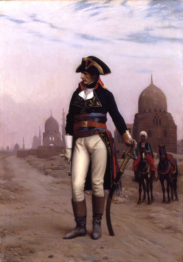 Jean-Léon Gérôme (French, 1824-1904). Napoleon in Egypt, ca. 1867-68. Oil on canvas.