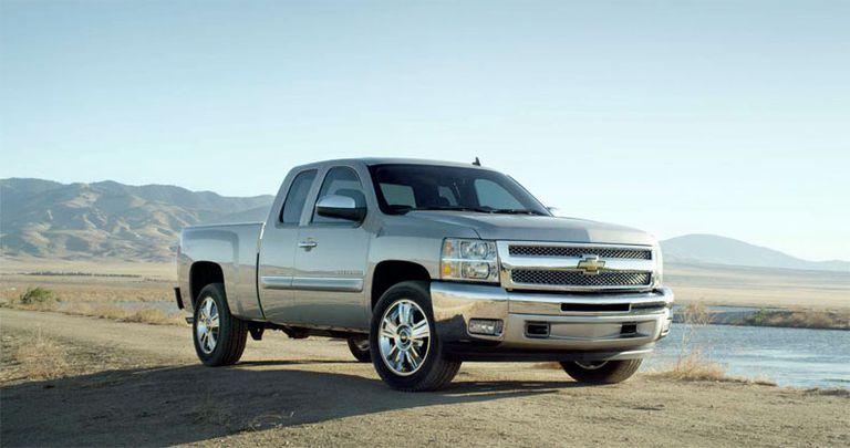 2012 Silverado Custom Sport Truck