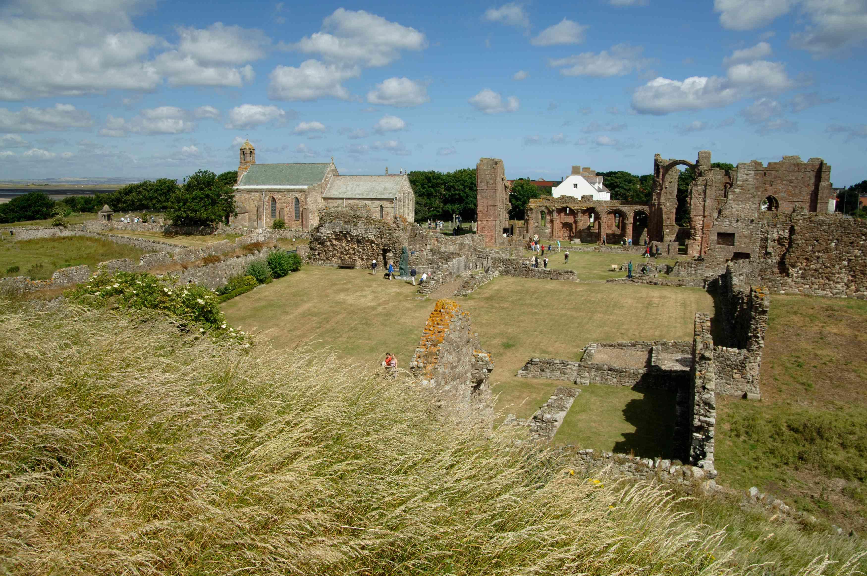 Lindisfarne Monastery, Northumberland Site of Viking Raid