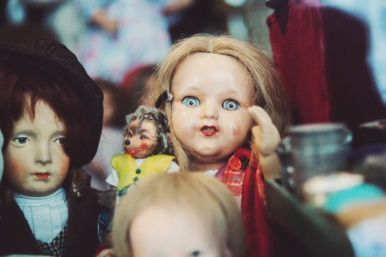 Creepy Life-like Dolls