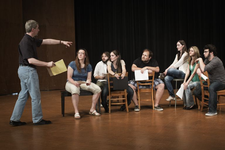 An acting class