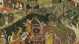 Artistic depiction of the Mughal Empire.