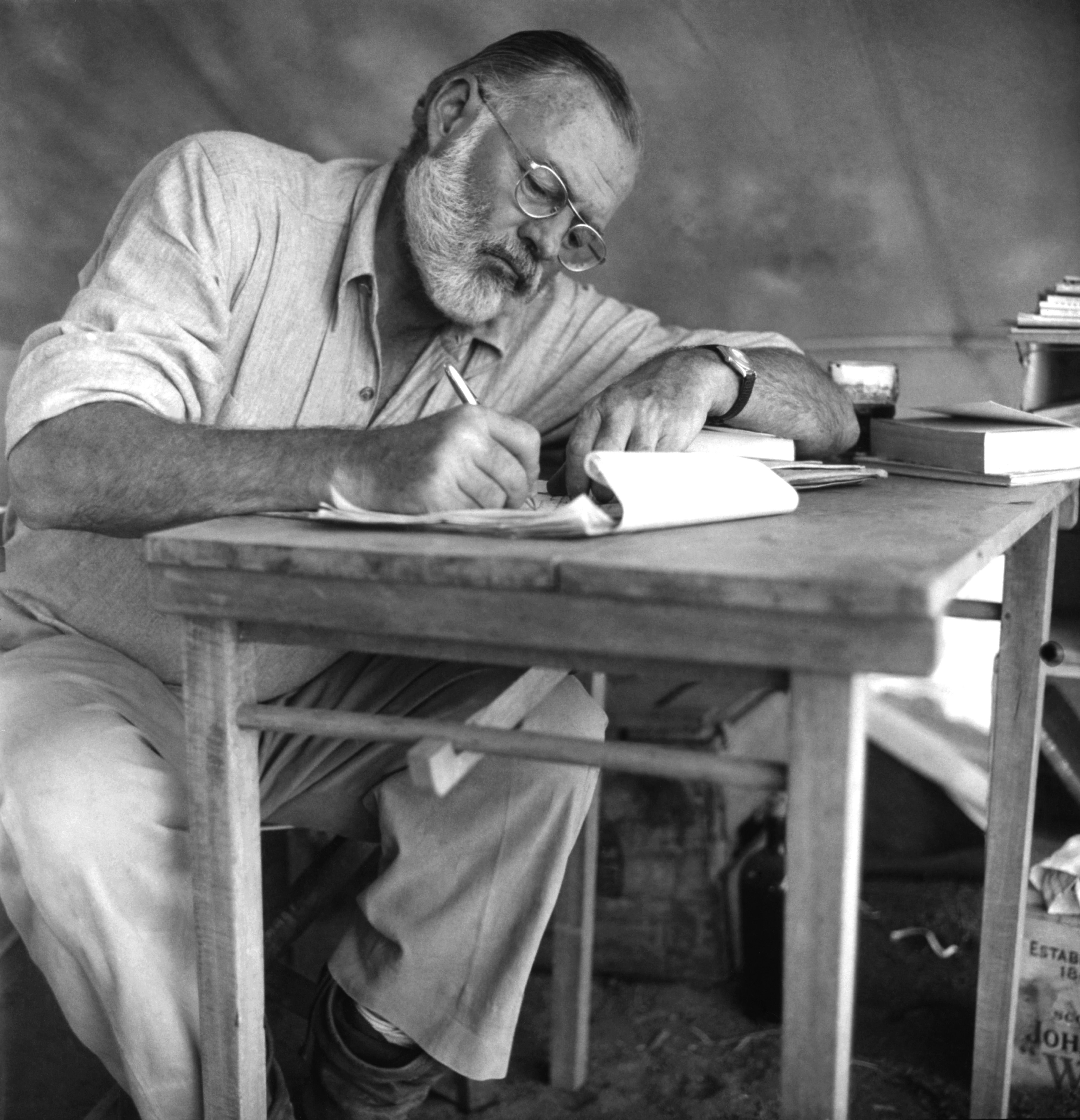 a biography of ernest hemingway one of the greatest writers Few writers have lived as colorfully as ernest hemingway, whose career could  have come out of one his adventurous novels  his best novels include the sun  also rises, about the demoralized life of expatriates after world war i a farewell .