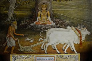 First attain of prince Siddhartha