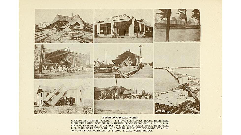 1928 Sudeste de la Florida / Lago Okeechobee huracán