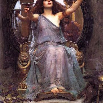 Paiting of Circe offering cup