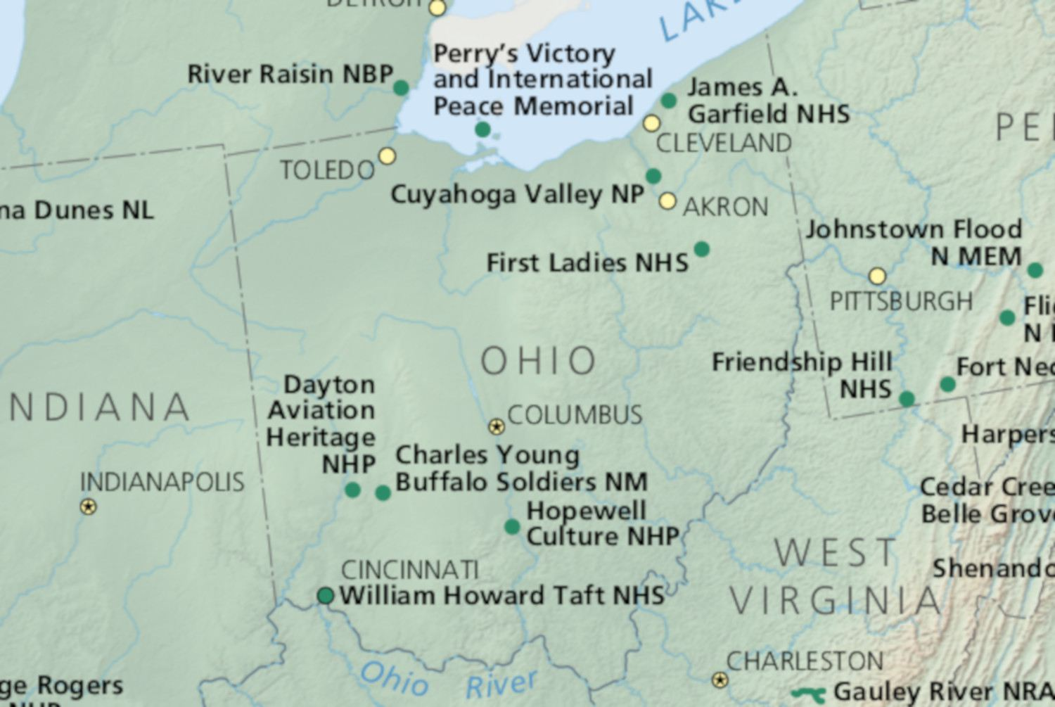 National Parks in Ohio