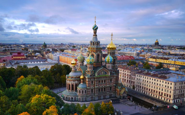 the history of st petersburg