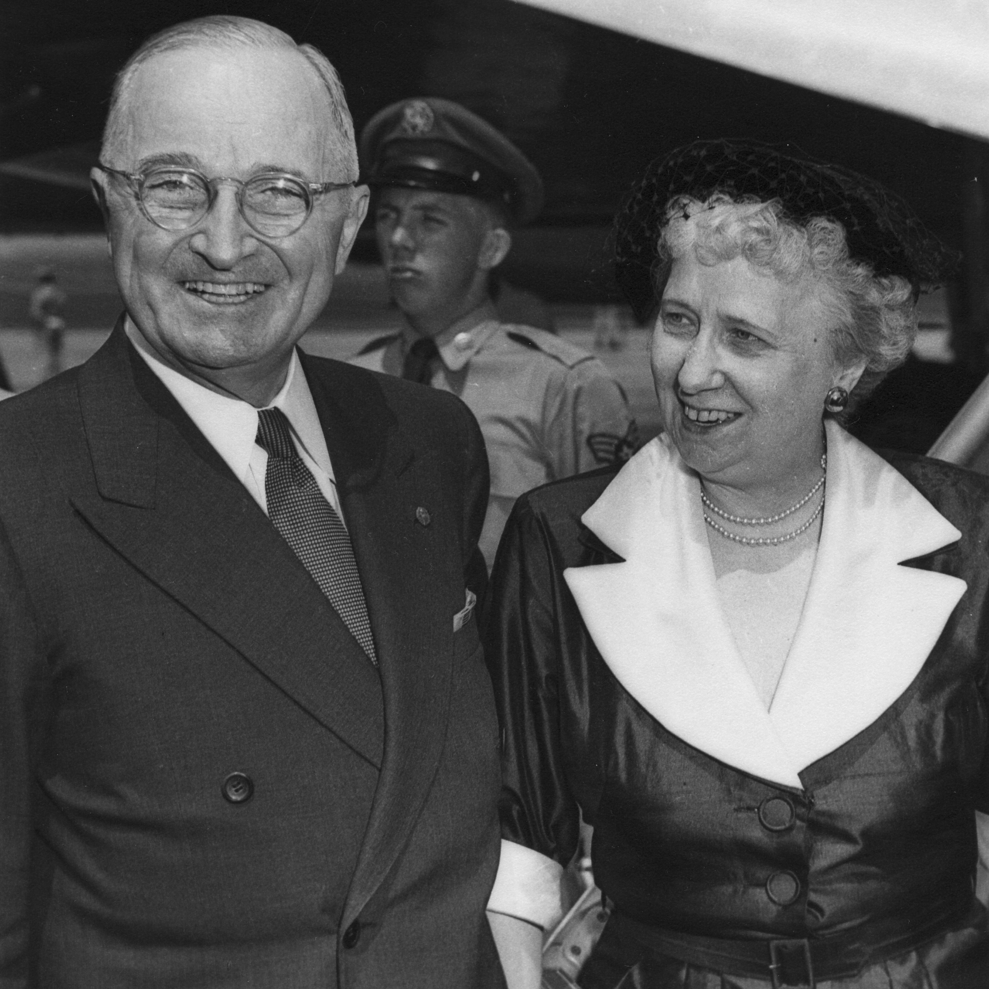 Bess and Harry Truman