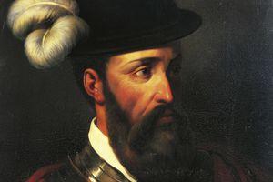Portrait of Francisco Pizarro, 1835 Oil on canvas 28 3/10 × 21 3/10 in 72 × 54 cm