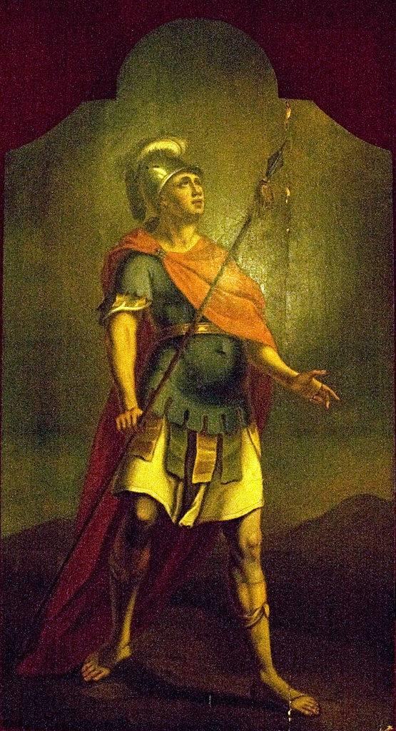 A Roman cavalry soldier