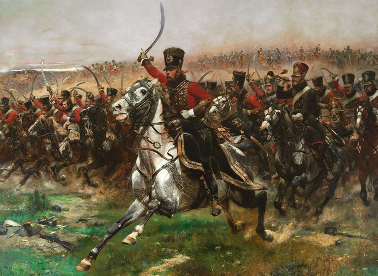 Vive L'Empereur by Edouard Detaille