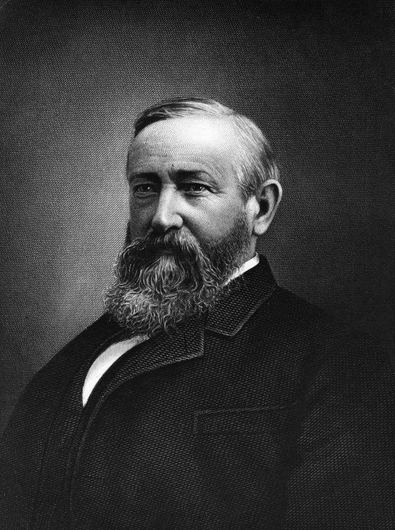 Benjamin Harrison's Beard