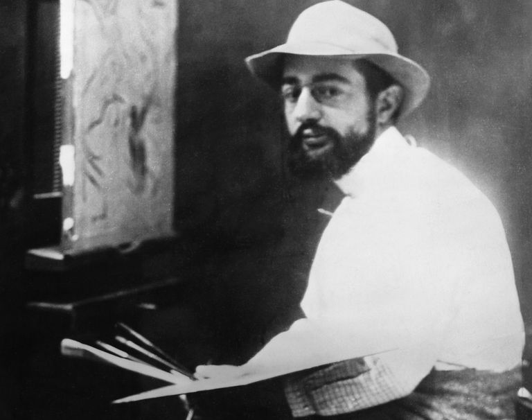 Henri de Toulouse-Lautrec at work