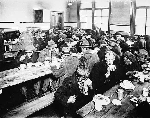 Soup Kitchen During the Great Depression