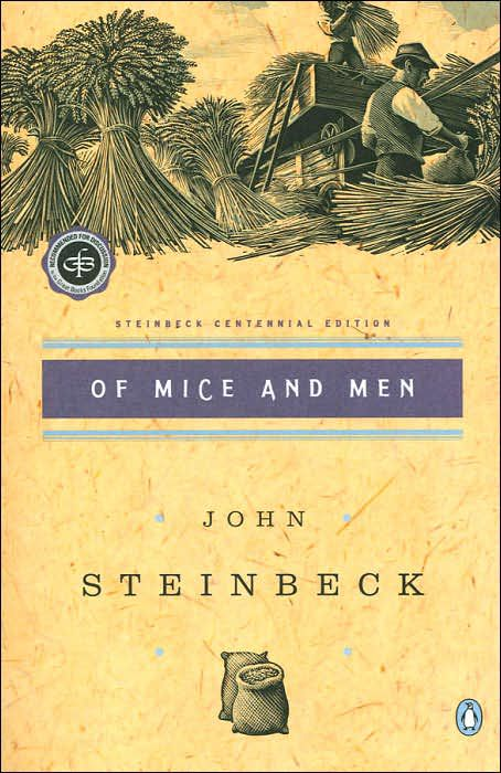 book report on of mice and men
