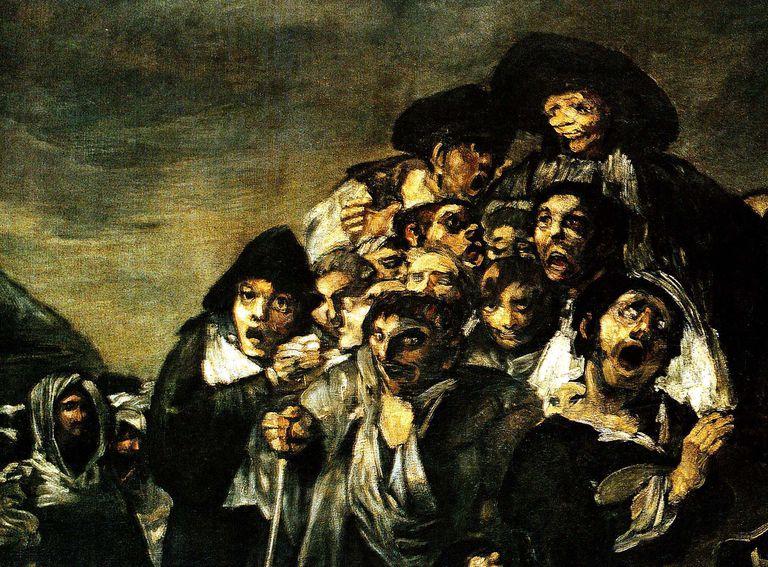 Goya Black painting