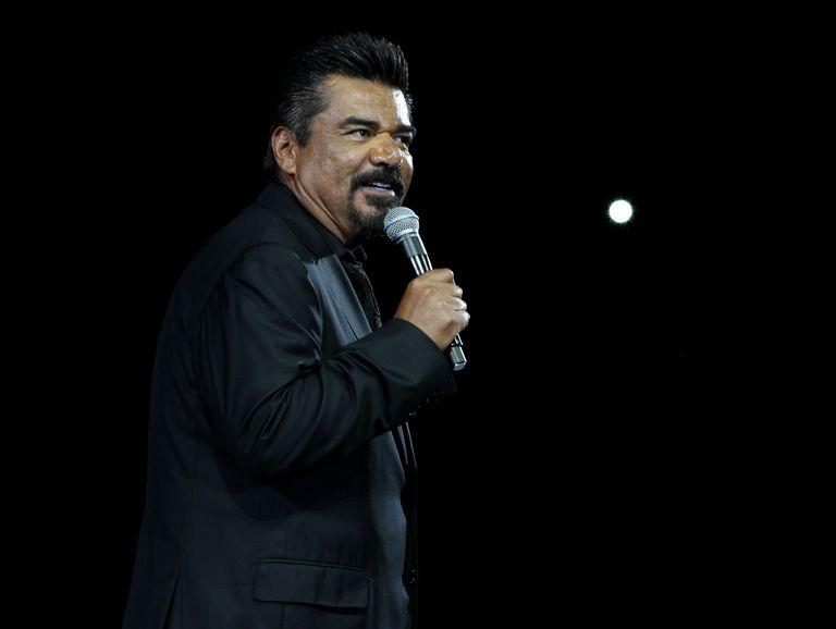 Comedian George Lopez