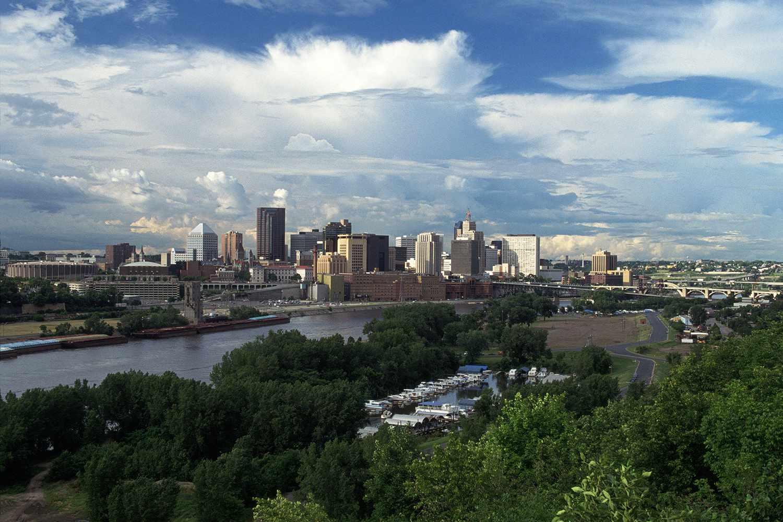 Skyline, St Paul, Minnesota