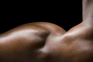 A man's shoulder