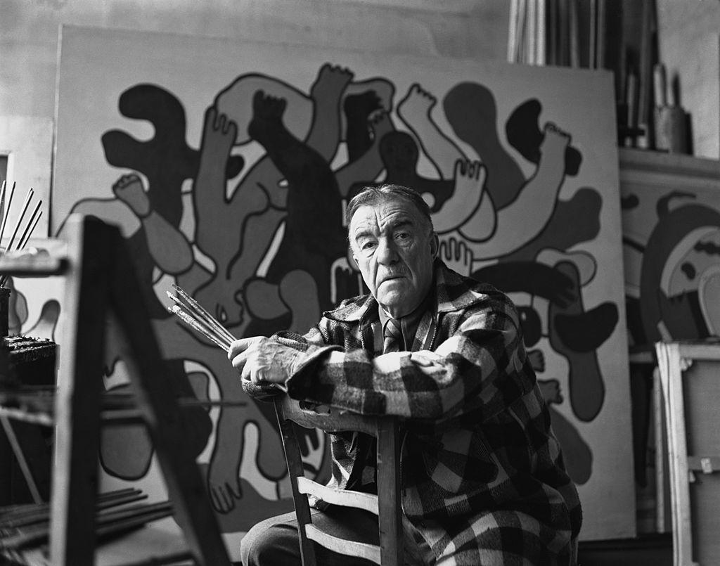 French painter Fernand Leger