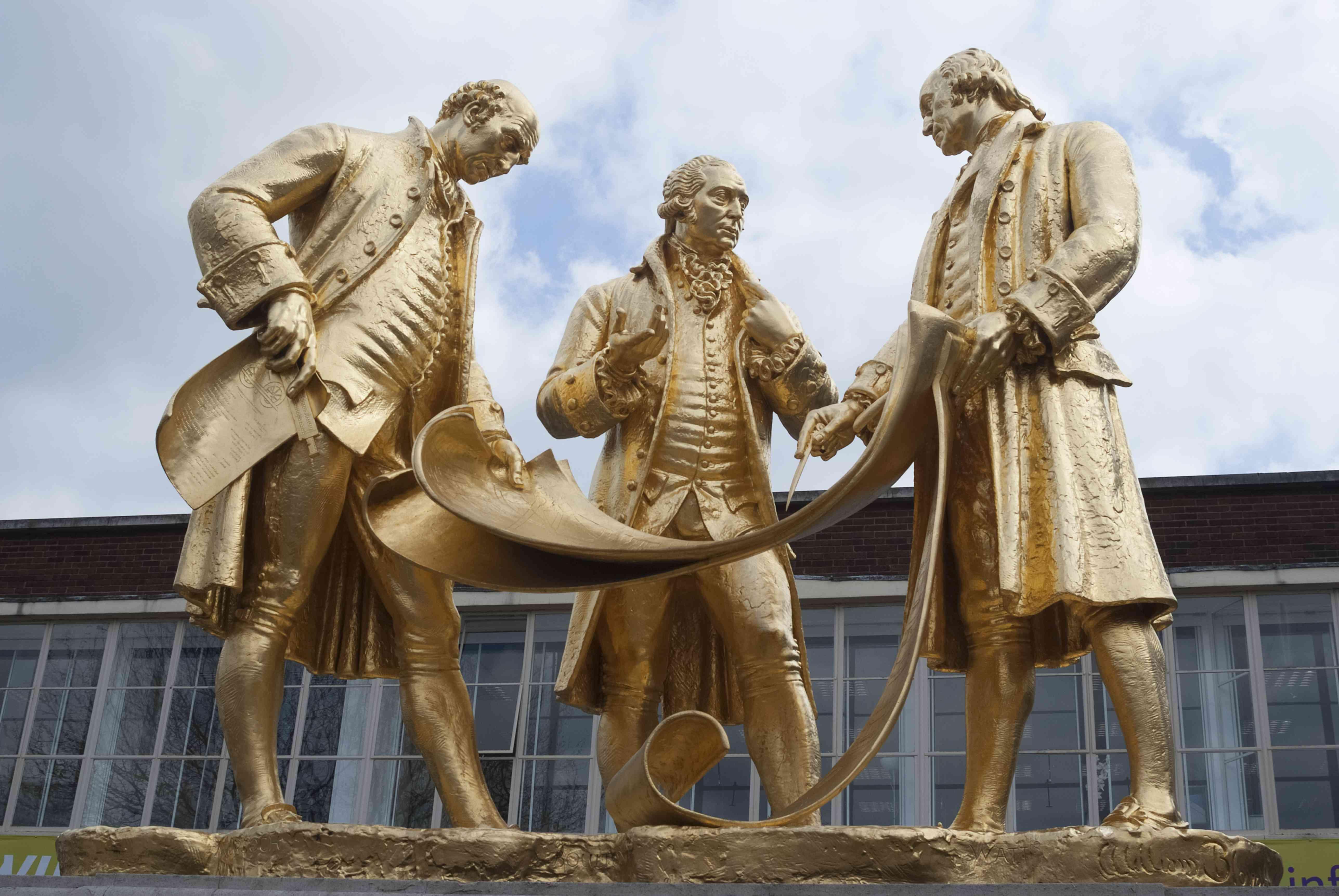 Birmingham James Watt statue