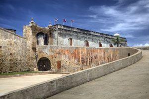Fort San Cristóbal in Puerto Rico