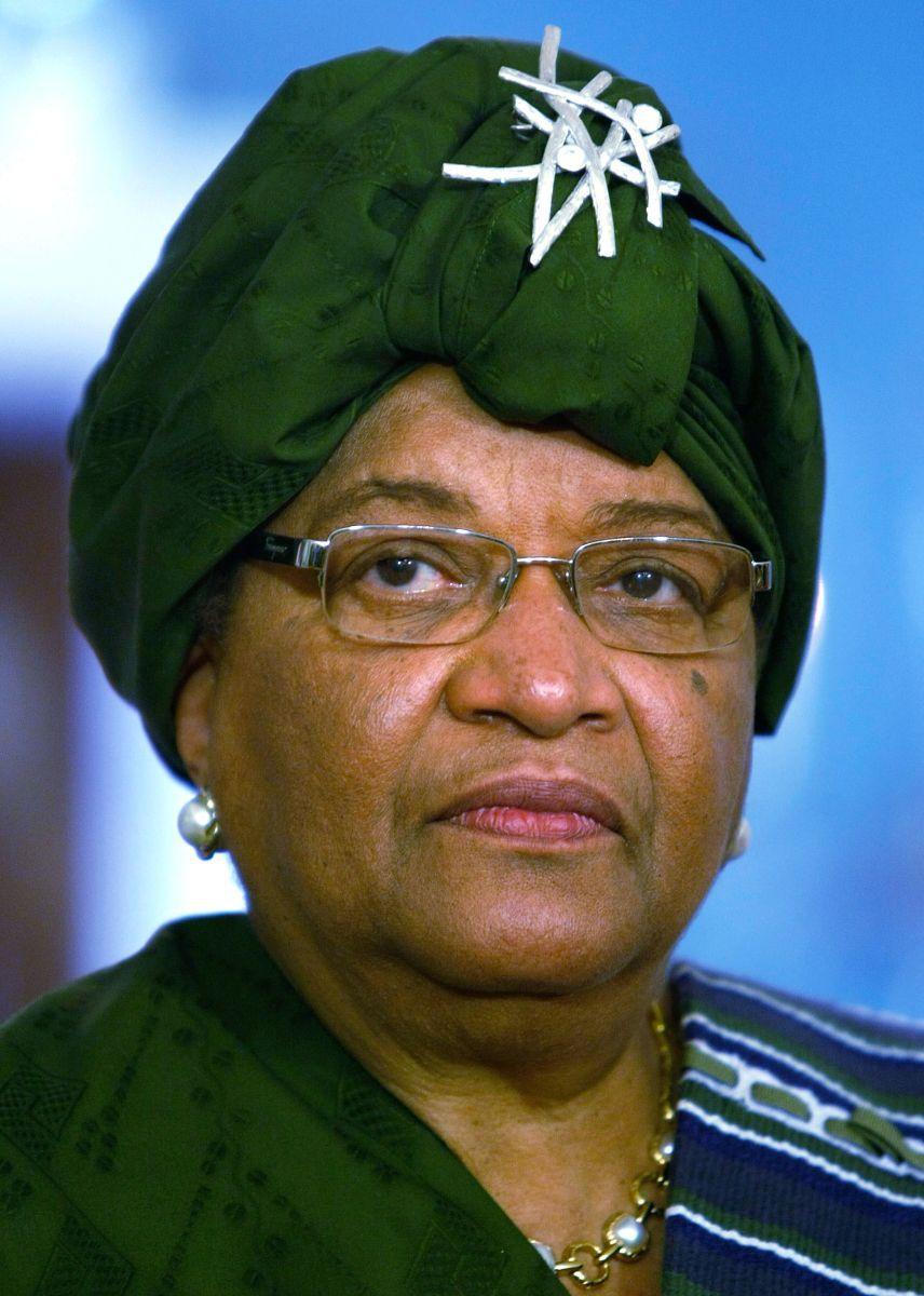 Ellen Johnson Sirleaf - press conference Washington DC 2009