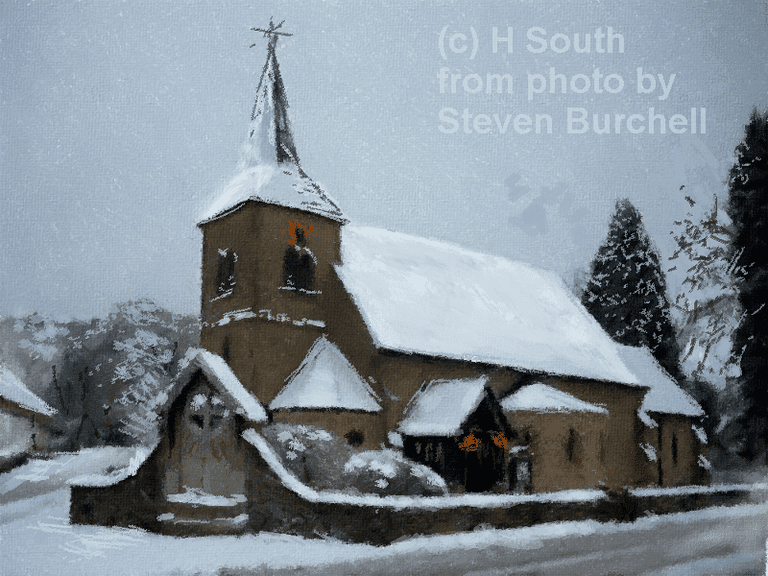 tips for drawing winter scenes