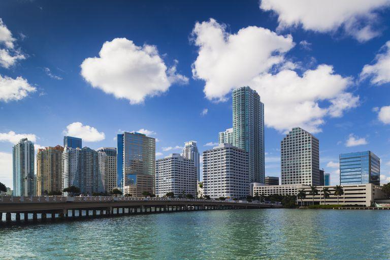 Vista de Miami.