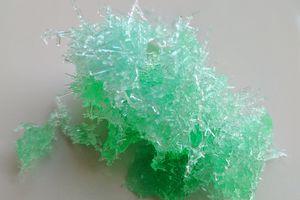 Epsom salt crystals
