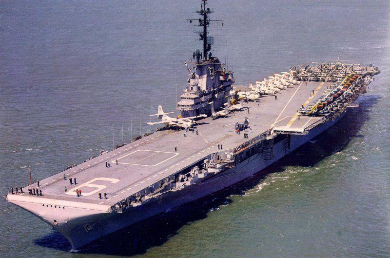 Photo of USS Essex at sea.