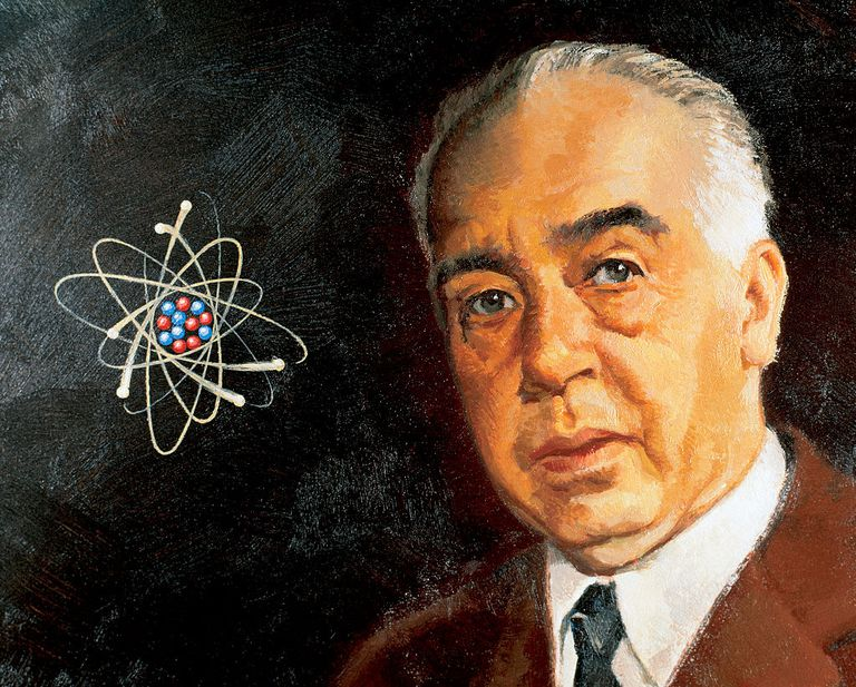 Niels Bohr and his atom