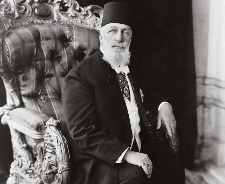 Portrait of the last Ottoman Caliph