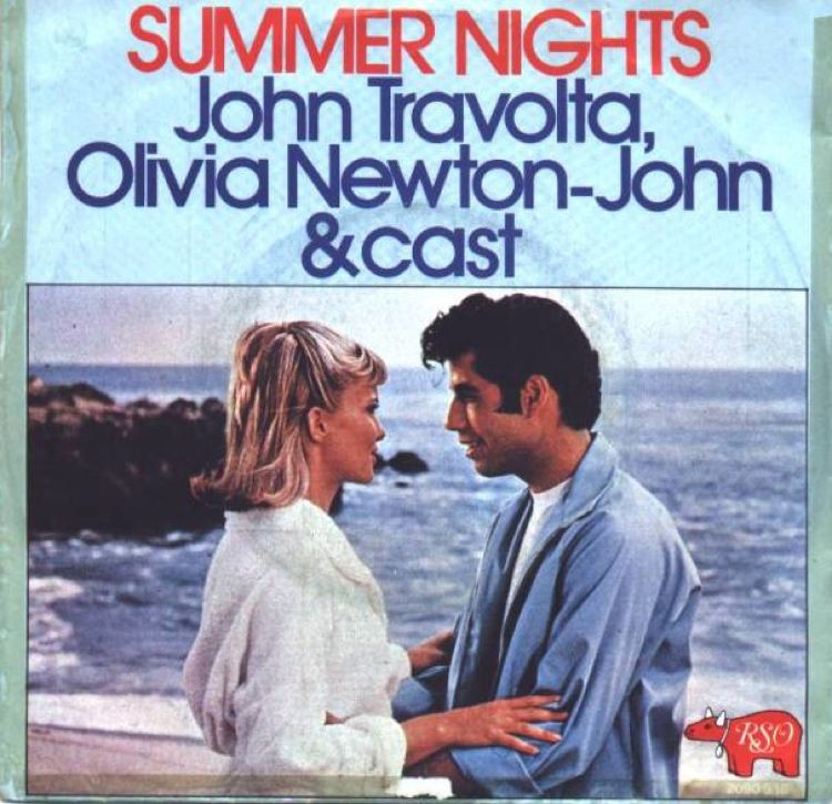 John Travolta Olivia Newton-John Summer Nights