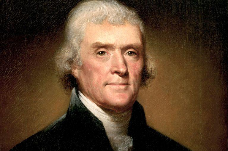 Painting of Thomas Jefferson