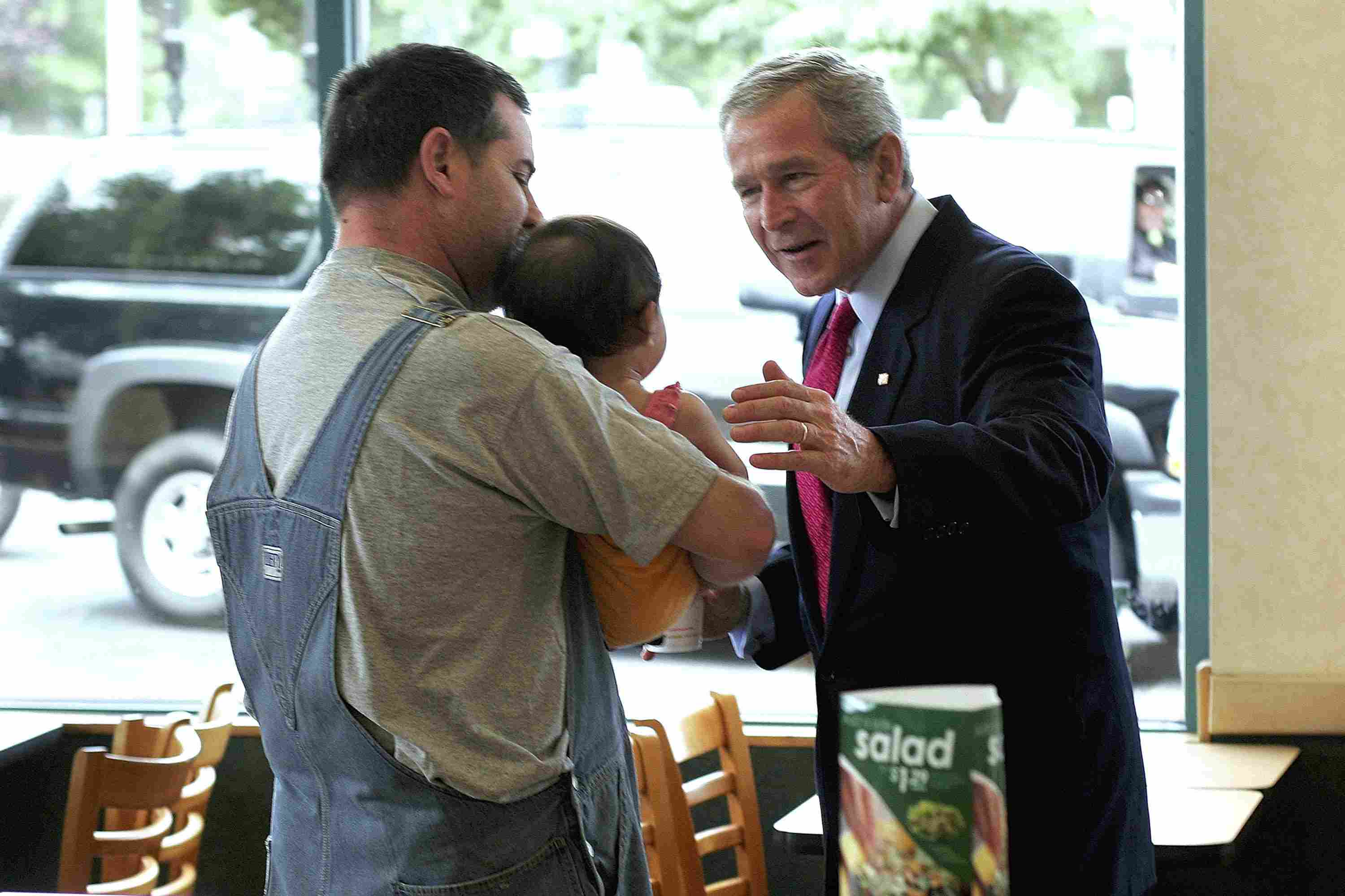 George W. Bush Speaks with Iranian business owner.