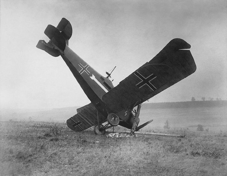 German plane in WWI