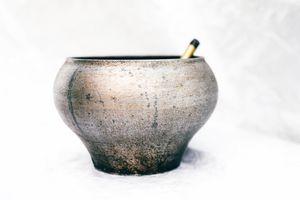 Cast-iron pot for making porridge