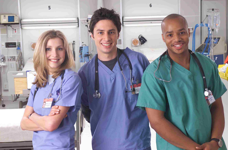 Cast Of NBC TV Show Scrubs