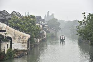 Wuzhen city, on China's Grand Canal
