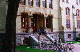 Logan Hall, University of Pennsylvania. : Stock Photo View similar images More from this photographer Download comp Caption:Philadelphia, Pennsylvania, United States, North America.