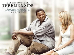 The Blind Side starring Sandra Bullock, Tim McGraw and Quinton Aaron