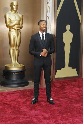 Michael B. Jordan at the Academy Awards