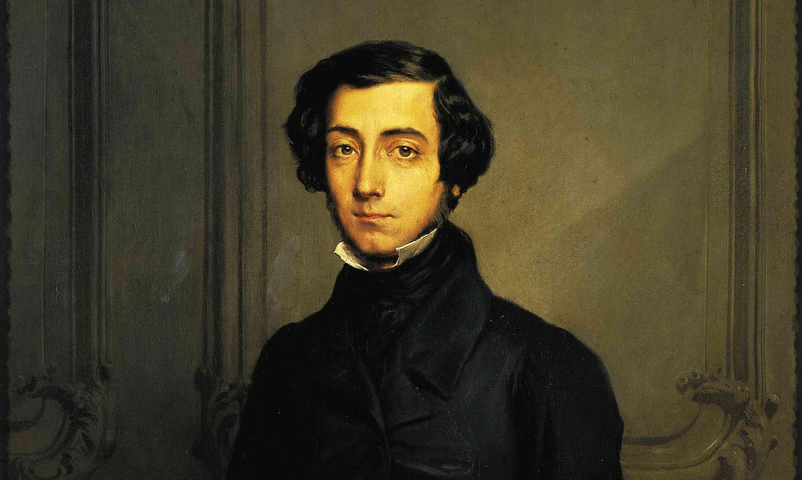 Portrait of Charles-Alexis-Henri Clerel de Tocqueville
